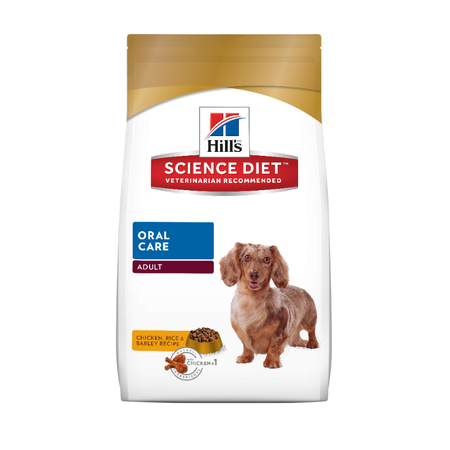 Hill's Science Diet Adult Oral Care Dry Dog Food  2kg