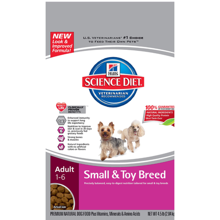 Hill's Science Diet Adult Small and Toy Breed Dry Dog Food  2.04kg