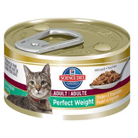 Hill's Science Diet Feline Adult Perfect Weight - 82gm