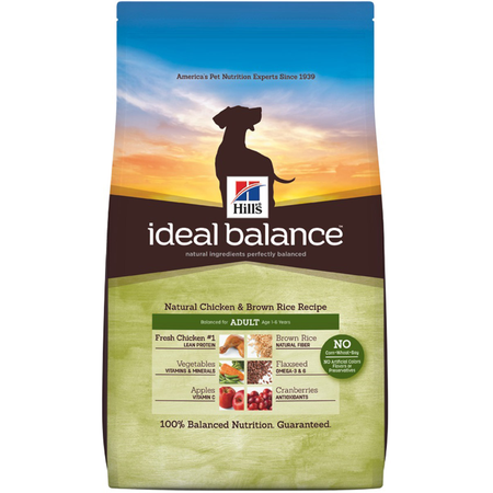 Hill's Science Diet Ideal Balance Adult Chicken and Brown Rice Dry Dog Food  1.81kg