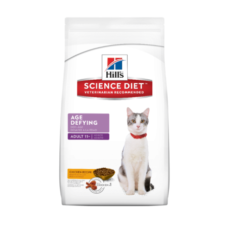 Hill's Science Diet Senior 11+ Age Defying Dry Cat Food  1.58kg