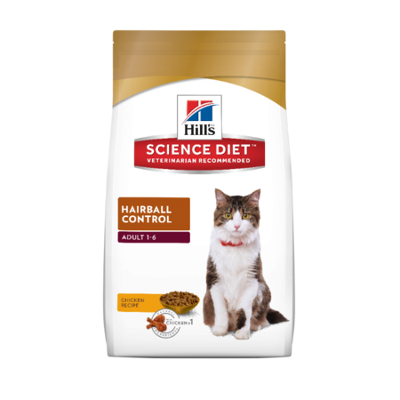 Hill's Science Diet - Adult Hairball Control - Dry Cat Food
