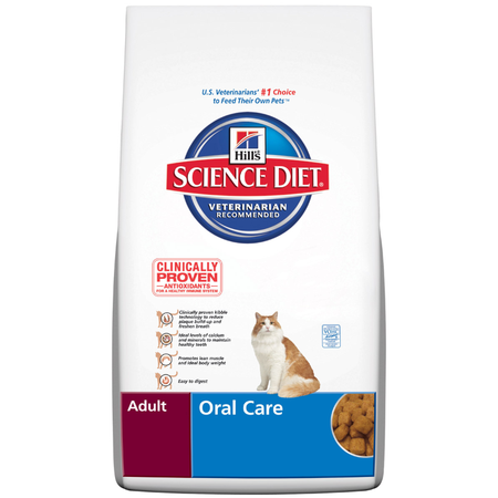 Hill's Science Diet - Adult Oral Care - Dry Cat Food