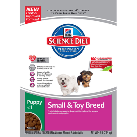Hill's Science Diet - Puppy Small and Toy Breed - Dry Puppy Food
