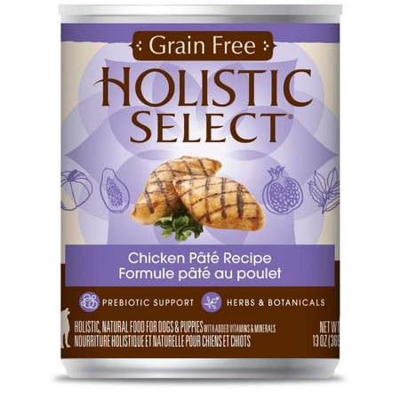 Holistic Select Grain Free Chicken Recipe 369gm