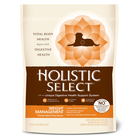 Holistic Select - Adult - Weight Management - Dry Dog Food
