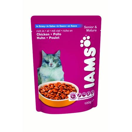 Iams Cat Pouch Active Maturity - 100gm
