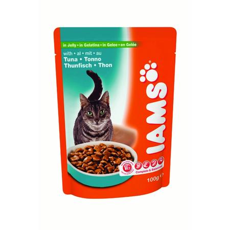 Iams Cat Pouch Adult Tuna in Gravy - 100gm
