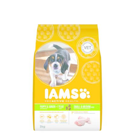 Iams ProActive Health Puppy & Junior 3kg