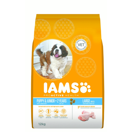 Iams Proactive Health - Puppy Large Breed - Dry Puppy Food - 12kg