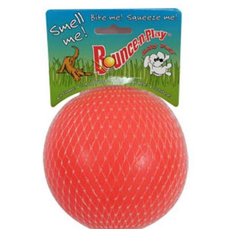 """Jolly Bounce-n-Play Ball Orange 4.5"""""""""""