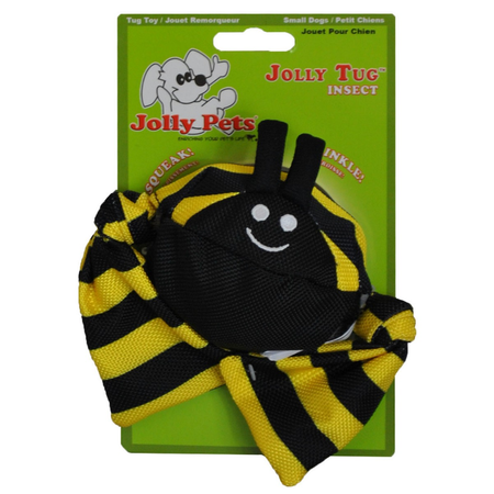 Jolly Pets - Bumble Bee - Squeaky Dog Toy
