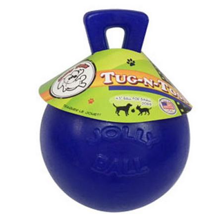 """""""Jolly Tug-n-Toss Ball Blue 6"""""""""""""""""""""""