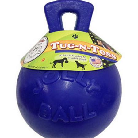 """""""Jolly Tug-n-Toss Ball Blue 8"""""""""""""""""""""""