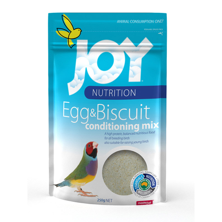 Joy Egg and Biscuit Bird Supplement and Rearing Mix  250gm