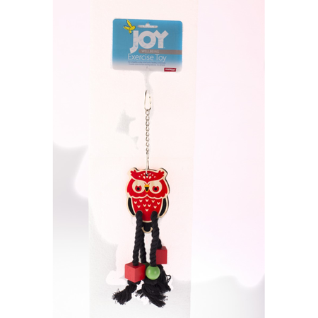 Joy Hang Wood Owl Rope - 35cm