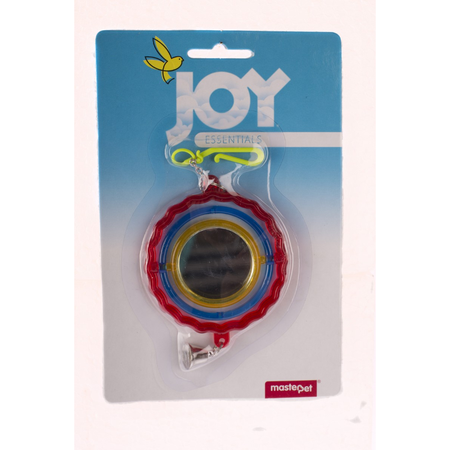 Joy Hanging Spin Mirror & Bell