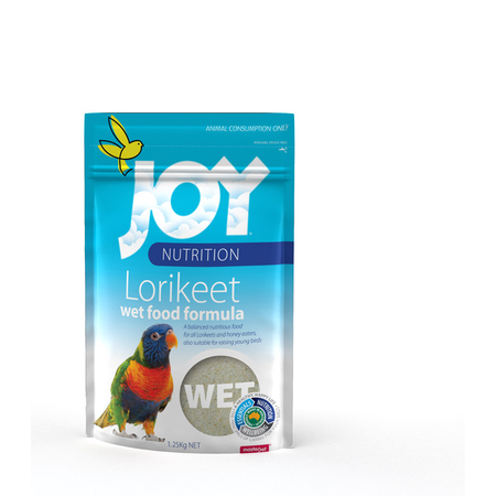 Joy Lorikeet Wet Food Formula  1.25kg