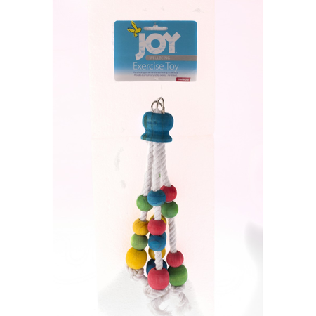 Joy Rope & Wood Beads - 35cm