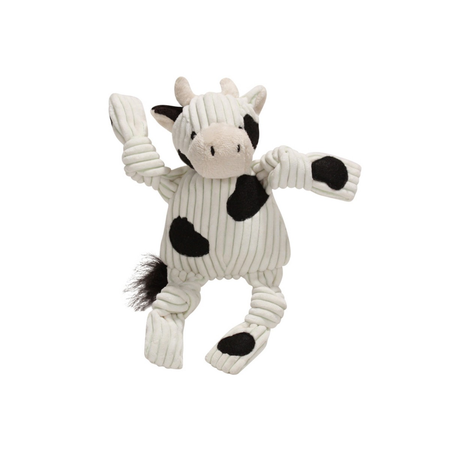 Knottie Barnyard Cow Large Soft Dog Toy