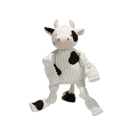 Knottie Barnyard Cow Small Soft Dog Toy