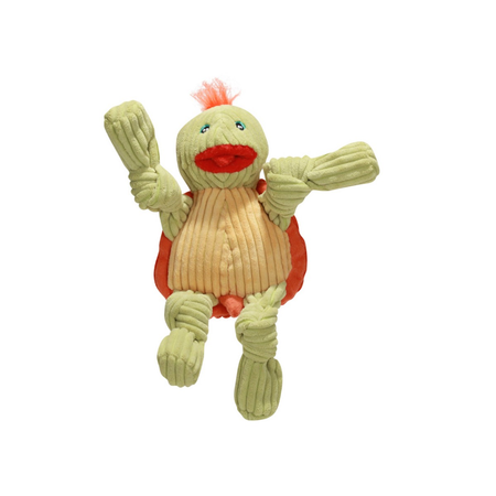 Knottie Turtle Large Soft Dog Toy