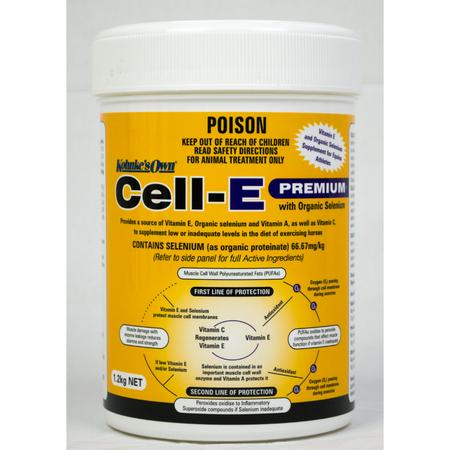 Kohnke's Own Cell E Premium Vitamin and Selenium Supplement for Horses  1.2kg