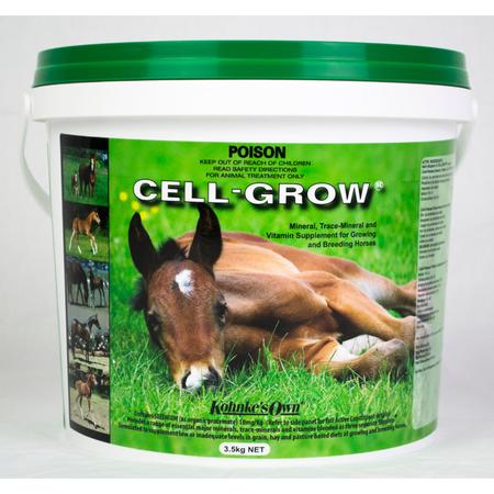 Kohnke's Own Cell Grow Vitamin Supplement for Breeding and Growing Horses  3.5kg