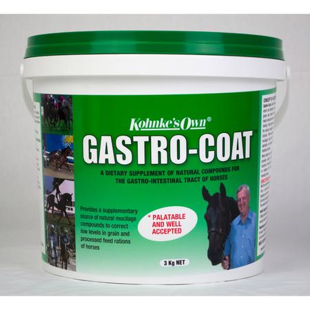 Kohnke's Own Gastro Coat Gastrointestinal Supplement for Horses  3kg