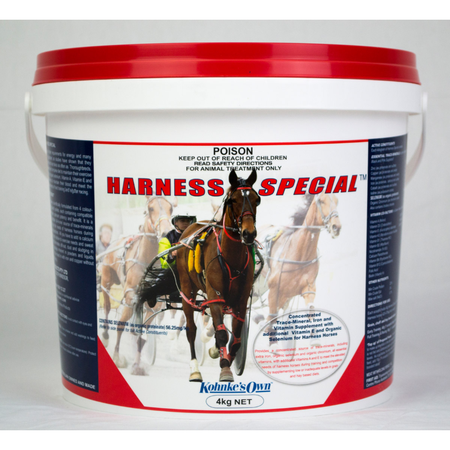 Kohnke's Own Harness Special Supplement for Harness Racing Horses  4kg
