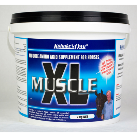 Kohnke's Own Muscle XL Essential Amino Acid Supplement for Horses  2kg