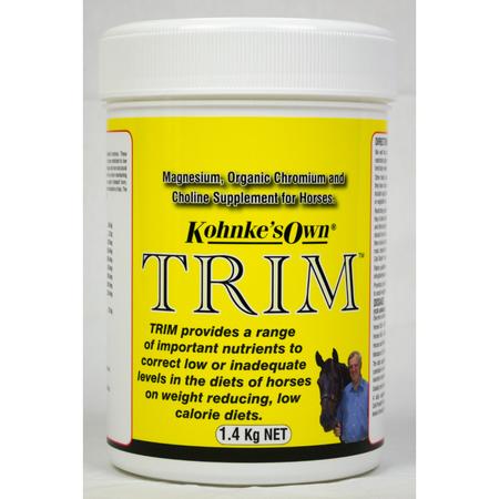 Kohnke's Own Trim Weight Loss Supplement for Horses  1.4kg