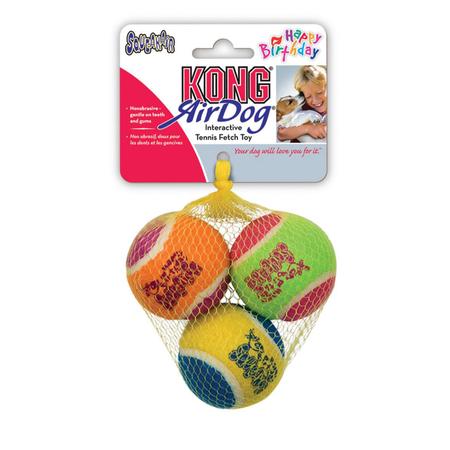 Kong AirDog Squeaker Birthday Balls
