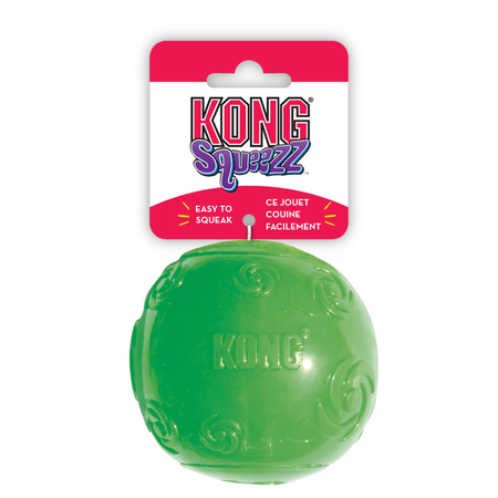 Kong Squeezz Ball Squeaky Dog Toy X Large