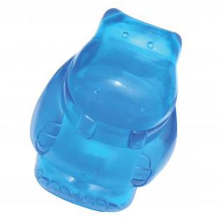 Kong - Squeezz Jels Hippo - Squeaky Dog Toy