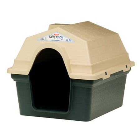 KraMar Sleep Ezy Villa Plastic Dog Kennel Green Medium (84x63x63cm)