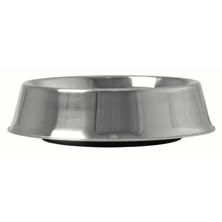KraMar Stainless Steel Ant Free Dog Bowl Silver 1.89L