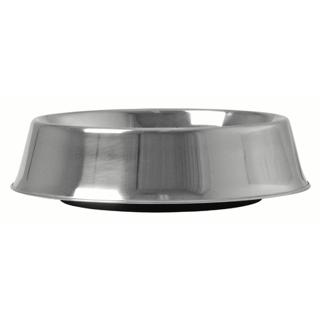 KraMar Stainless Steel Ant Free Dog Bowl Silver 950ml