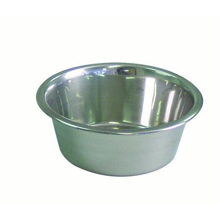 KraMar Stainless Steel Dog Bowl Silver 2.8L