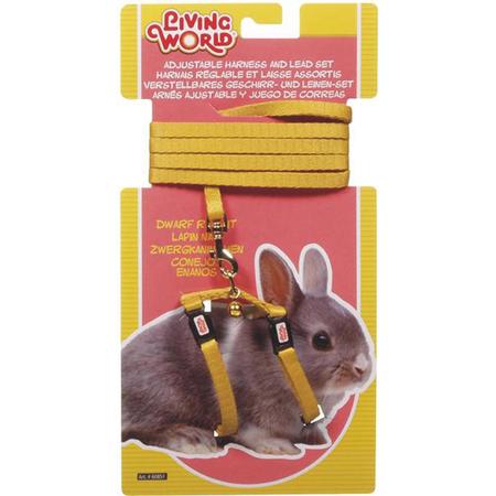 Living World - Dwarf Rabbit - Harness and Lead Set
