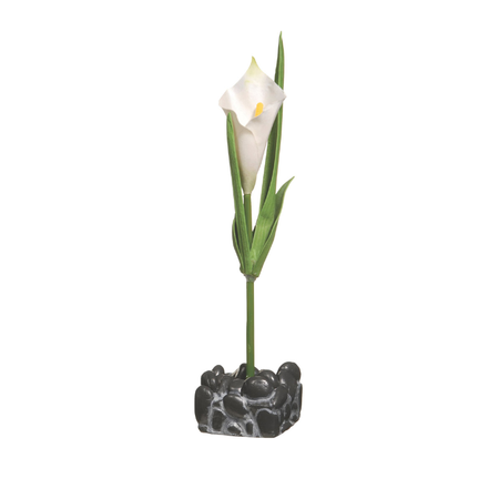 Marina Calla Lily Plant Betta Kit Ornament