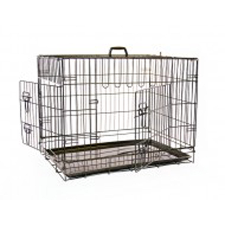 Mikki Collapsible Pet Training Crate  Small (76x54x61cm)