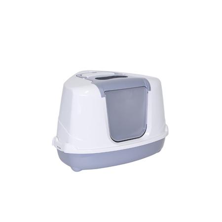 Moderna Flip Corner Litter Box - Speckled Grey