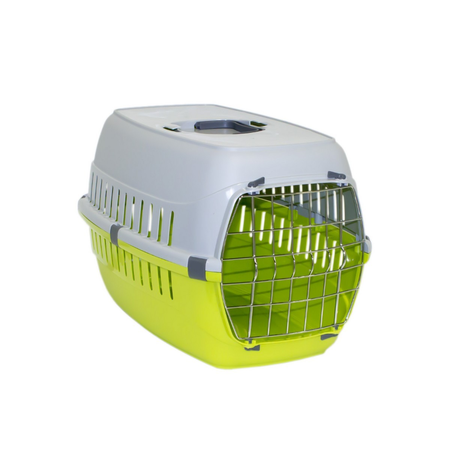 Moderna Roadrunner Plastic Pet Carrier Green Size 1 (51x31x34cm)