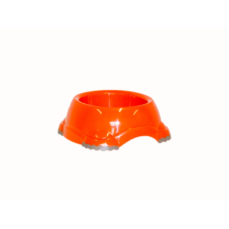 Moderna Smarty Non Slip Plastic Cat Bowl Orange 210ml