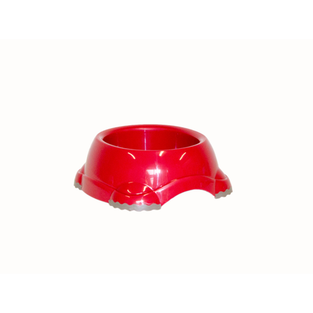 Moderna Smarty Non Slip Plastic Cat Bowl Red 210ml