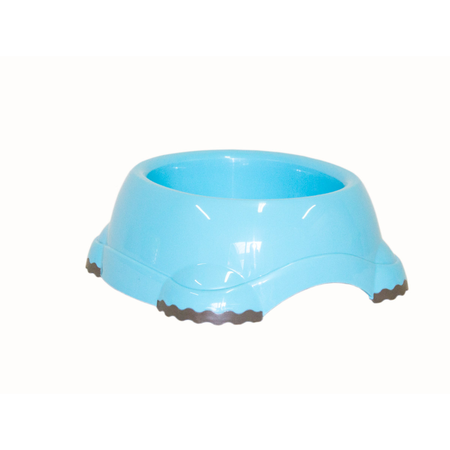 Moderna Smarty Non Slip Plastic Dog Bowl Blue 1.25L