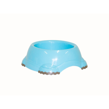 Moderna Smarty Non Slip Plastic Dog Bowl Blue 315ml