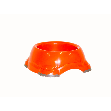 Moderna Smarty Non Slip Plastic Dog Bowl Orange 315ml