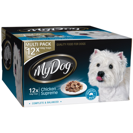 My Dog Chef Select Chicken Supreme - Multipack 12 x100gm